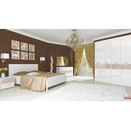 Спальня Флора Глянец Белый снято с производства