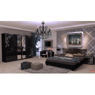 Спальня Богема Глянец Черный