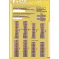 Шкаф-купе 1000х600х2400 Caesar (Цезарь) купить в Одессе, Украине