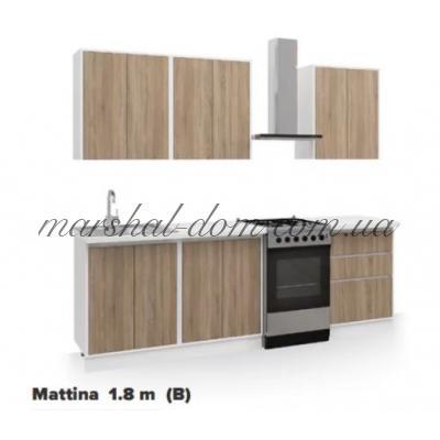 Кухня Маттина (A) 1.8 м  Киевский стандарт