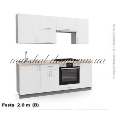 Кухня Festa 2 m (B) Киевский стандарт