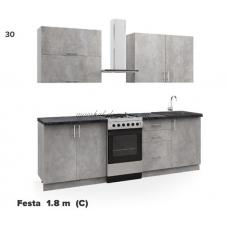 Кухня Феста (C) 1.8м Киевский стандарт