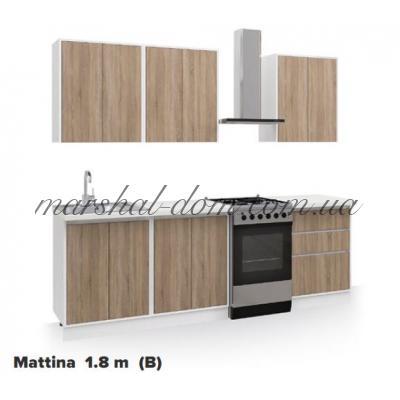 Кухня Маттина 1.8 м (В) Киевский стандарт