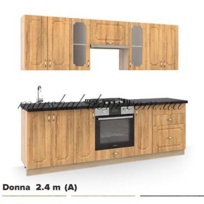 Кухня Donna 2.4 m (A)  Киевский стандарт