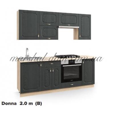 Кухня Donna 2m (B) m Киевский стандарт