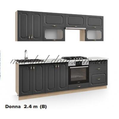 Кухня Donna 2,4m (B) Киевский стандарт