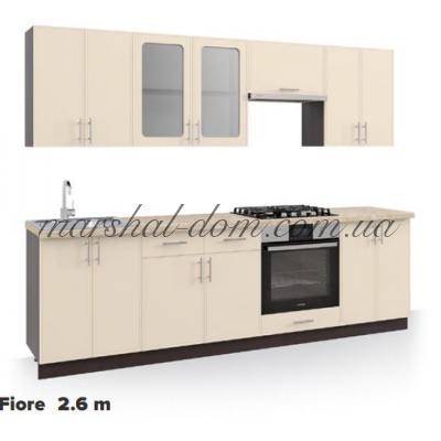 Кухня Fiore 2.6m Киевский стандарт