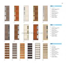 Варианты фасадов шкафов-купе