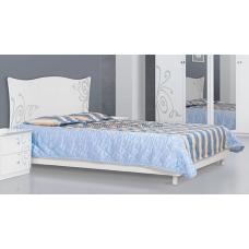 Кровать Фелиция Нова (белая)