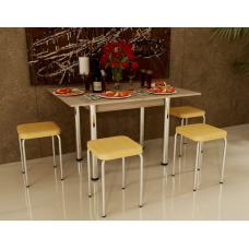 Комплект Оскар - Чико стол + 4 табуретки
