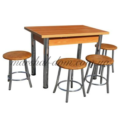 Комплект Оскар - Тали стол + 4 табуретки