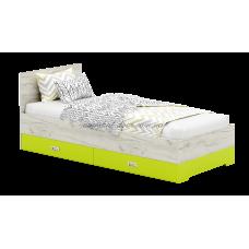 Сити ДСП С14 кровать А с 2 ящиками