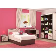 Кровать 90 Орхидея