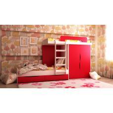 Детская 2-х ярусная кровать Твинс