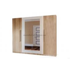 Шкаф 4Д  Лилея Новая