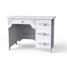 Анжелика стол письменный белый 4Я