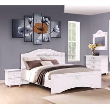 Анжелика Кровать белая