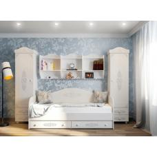 Анжелика кровать тахта белая