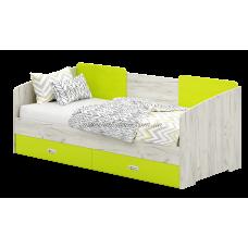 Сити ДСП С15 Кровать Б с 2мя ящиками