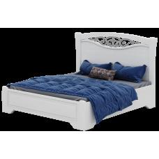 Беатрисс БТ08 Кровать А 1,6 дно ДСП