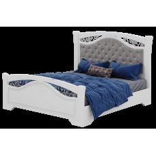 Беатрисс БТ09 Кровать Б 1,6 с мягким изголовьем дно ДСП