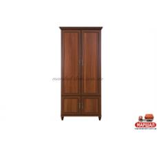 Роксолана Шкаф (2-х дверный) Ш1395 БМФ (Белоцерковская мебельная фабрика) купить в Одессе, Украине