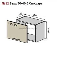 Верхний модуль Мода Мат № 12 верх 50-40,6 Стандарт