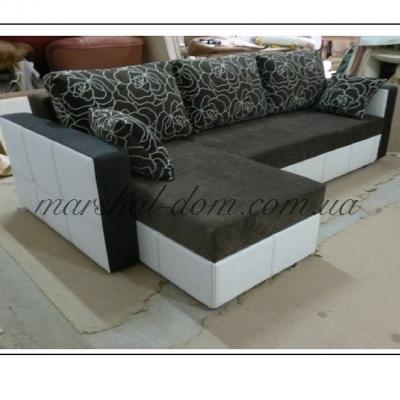 Угловой диван Роджер c подлокотниками снят с производства