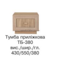Корвет Тумба прикроватная ТБ-380