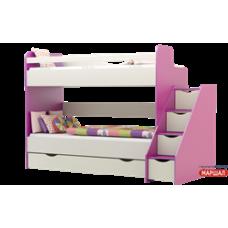 Кровать двухярусная Принцесса