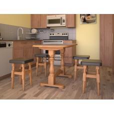 Кухонный стол Элегант (с табуретками)