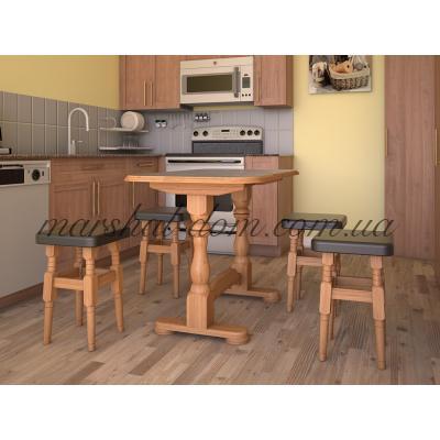 Кухонный стол Элегант (с табуретками) (снят с производства)