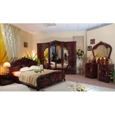 Спальня Олимпия Перо Рубино