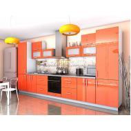 Кухня Гламур угловая 1м