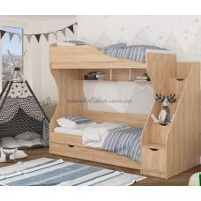 Кровать двухъярусная КД-01 Макси