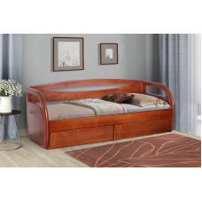 Кровать с выдвижными ящиками Бавария (серия Прайм)