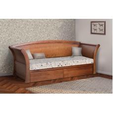 Кровать с выдвижными ящиками Адриатика (серия Прайм)