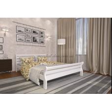 Белая деревянная кровать Аркадия
