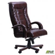 Кресло AMF Кинг Люкс Темно-коричневое