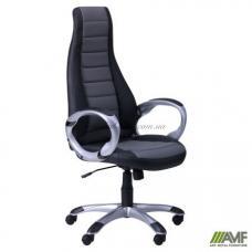 Кресло AMF Форс СX 0678 Y10-01 Черное с серым