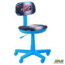 Кресло AMF Свити Машинки Голубое