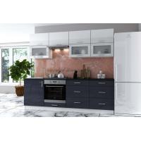 Кухня с крашенными фасадами Брайт New