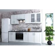 Кухня с крашенными фасадами Рич New