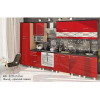 """Кухня серии """"Крашеный высокий глянец"""" КХ - 6726"""