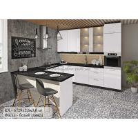 """Кухня серии """"Крашеный высокий глянец"""" КХ - 6729"""