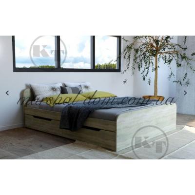 Кровать Виола 160 с мягкой спинкой