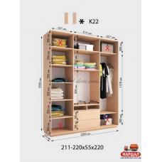 Шкаф под TV Камелот К-22мат