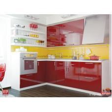 Кухня Мода красная