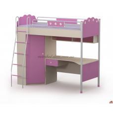 Кровать-стол Pn-16-2 Pink