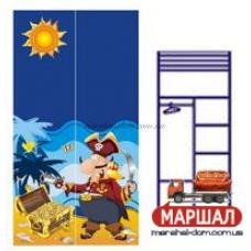 Двухдверный шкаф Od-02-1(пират)Ocean Бриз, г. Вишневый купить в Одессе, Украине